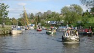 A boat gathering took place on the River Medway in Kent in early May 2009 to help publicise the Enviroment Agency's new slipway and boaters facilities situated at Allington Lock near Maidstone. Enviroment Agency Manager Mr John Morgan welcomed the...