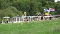 Over the August Bank Holiday weekend, 13 Wilderness boats attended the National Inland Waterways Festival in the super setting of Beale Park near Pangbourne on the River Thames.  Everyone arrived at different times and each was helped to moor 'bow...