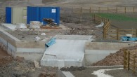 Above is the location of this new slipway. Following are the photos of the new slipway at Stavley basin, high and dry, just being constructed. But in no time at all, they have in the last few days (mid...