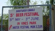 "Back in 2002 three Wilderness boats Arwyn, Bobbles and Tophyl of Taunton, slipped into the centre ""in water"" bit of Droitwich canal from the Droitwich Canal Trust yard during the 5th annual beer festival, which also happened to be a […]"