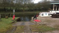 A CRT slipway. The slipway is good but above the concrete slipway is a metre wide strip of grass and soil before you reach the roadway. This can make it very difficult, especially in wet weather or if other boats […]